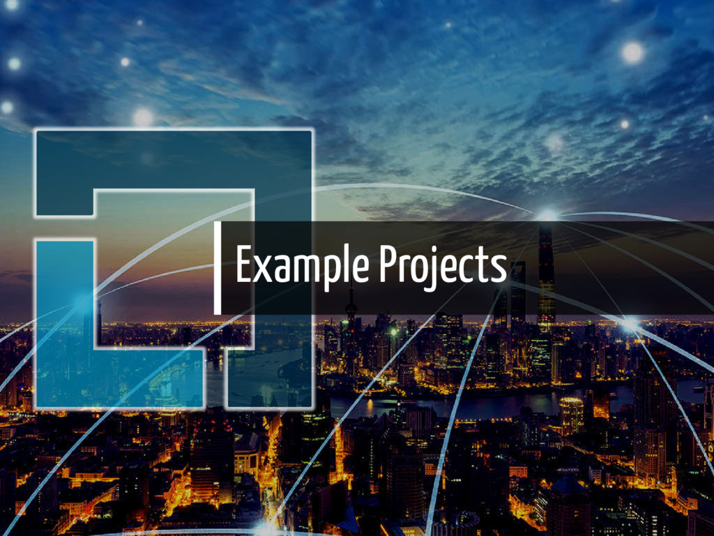 Example Projects 22 / 36