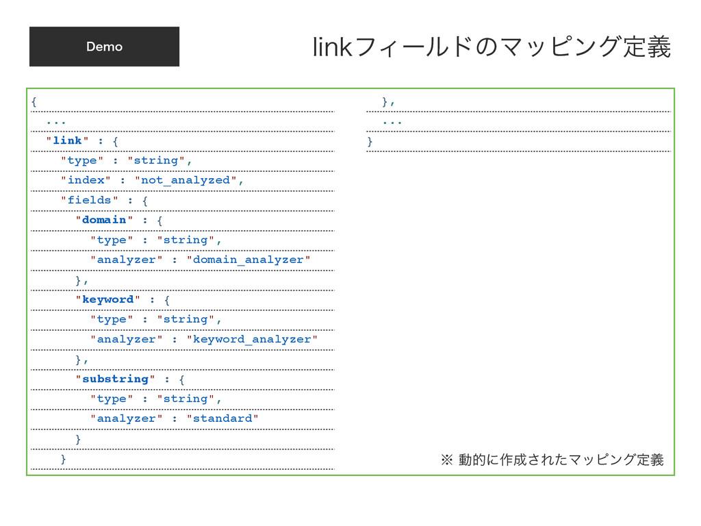 """%FNP {! ...! """"link"""" : {! """"type"""" : """"string"""",! """"i..."""