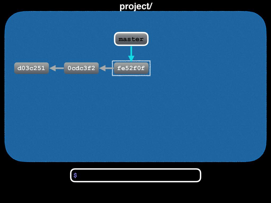 project/ d03c251 0cdc3f2 fe52f0f $ master