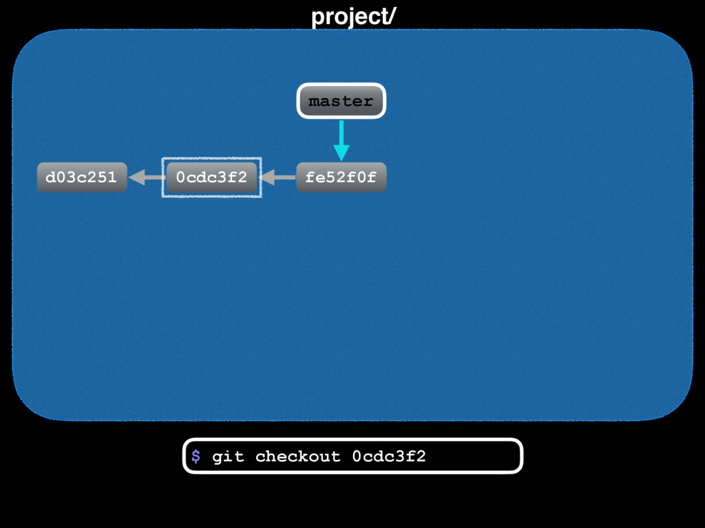 project/ d03c251 0cdc3f2 fe52f0f master $ git c...