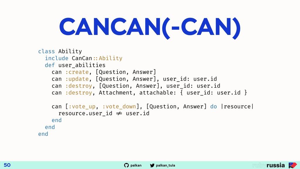 palkan_tula palkan CANCAN(-CAN) 50 class Abilit...