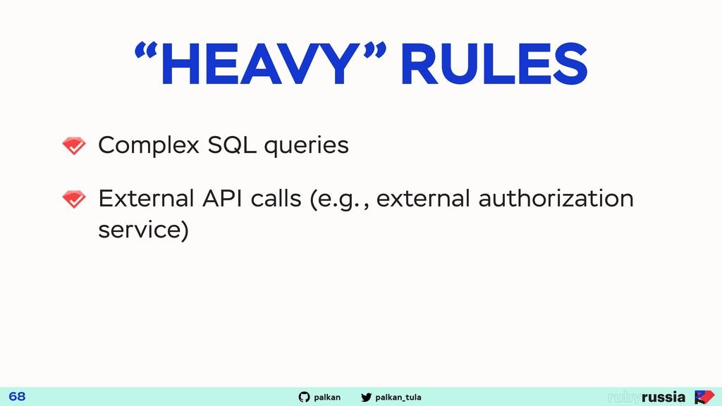 """palkan_tula palkan """"HEAVY"""" RULES 68 Complex SQL..."""