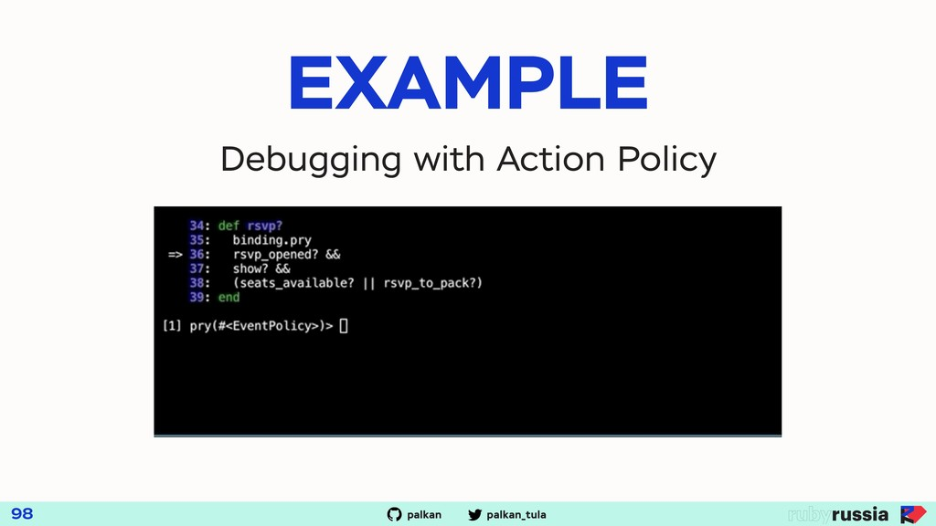 palkan_tula palkan 98 EXAMPLE Debugging with Ac...
