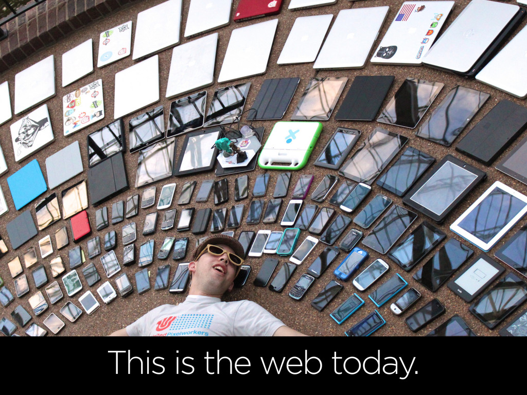 This is the web today.