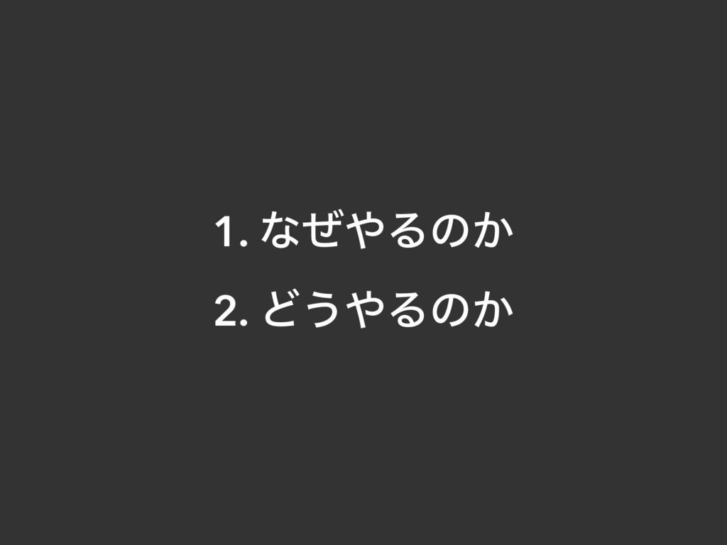 1. ͳͥΔͷ͔ 2. Ͳ͏Δͷ͔