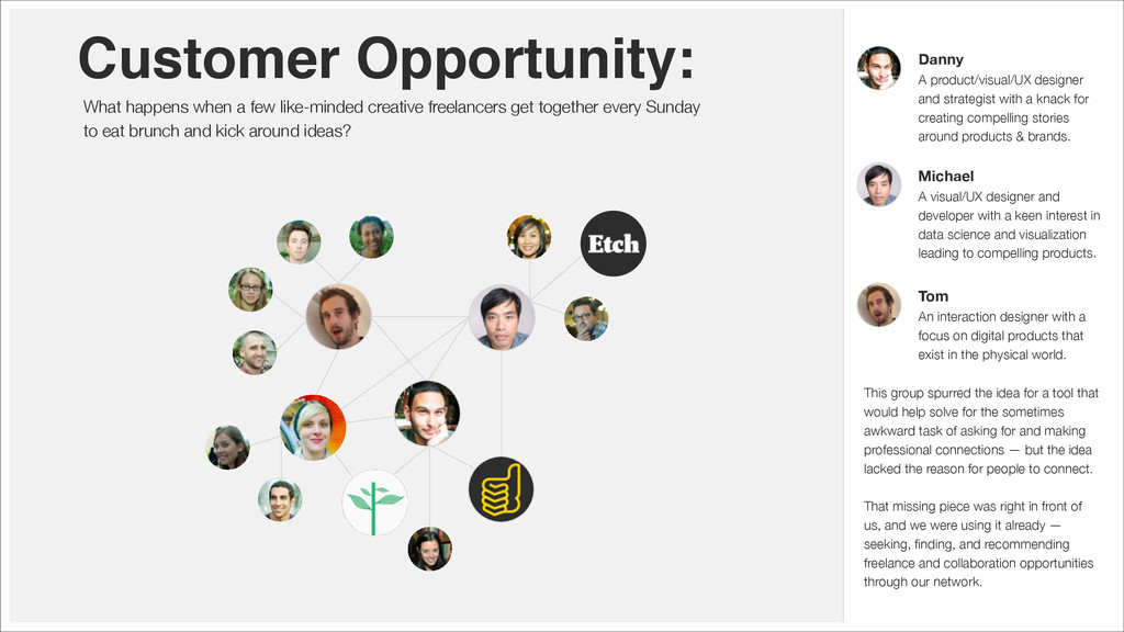 Customer Opportunity: What happens when a few l...