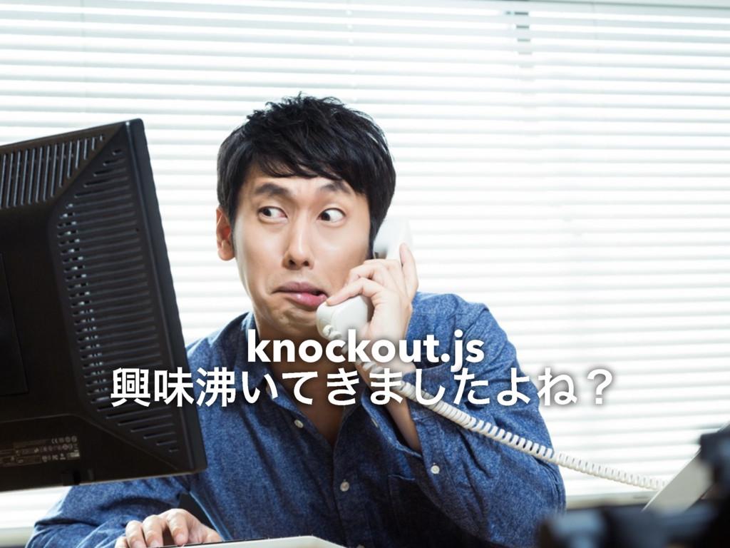 knockout.js ڵຯ͍͖ͯ·ͨ͠ΑͶʁ