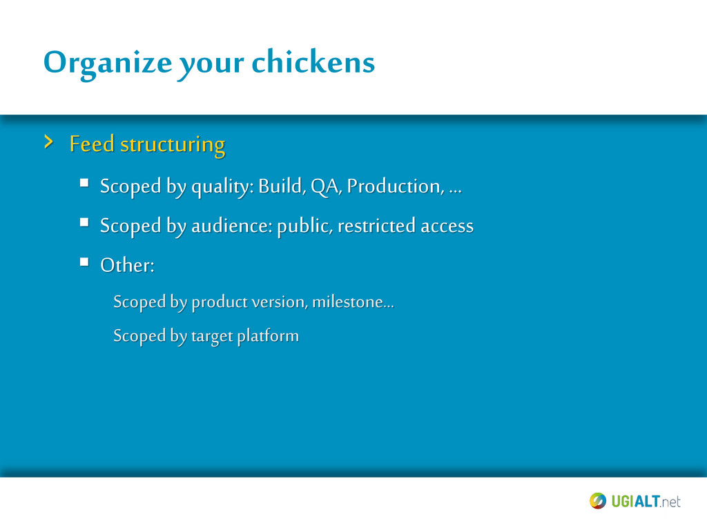 Organize yourchickens › Feed structuring  Scop...