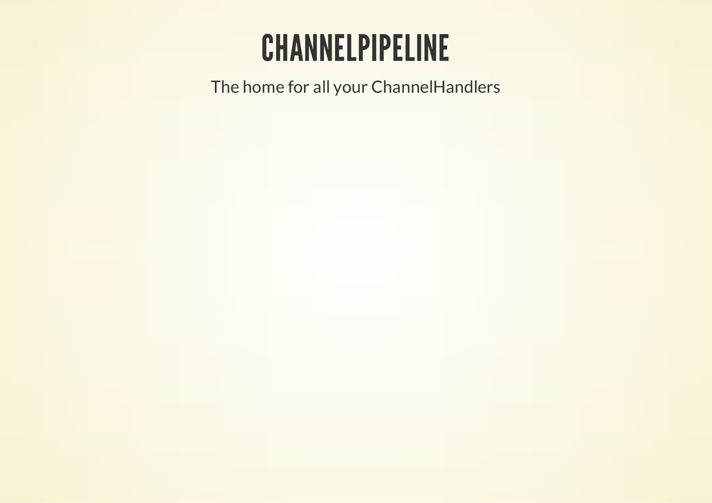 CHANNELPIPELINE The home for all your ChannelHa...
