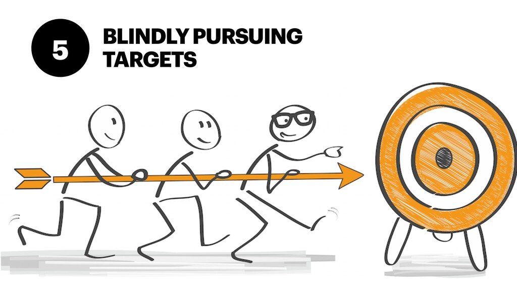 BLINDLY PURSUING TARGETS 5