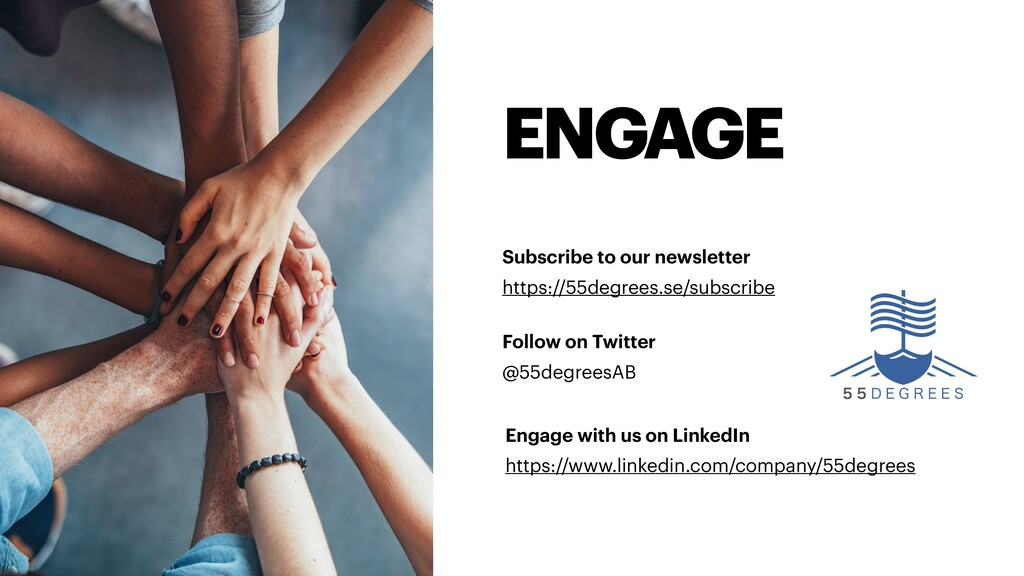 ENGAGE Subscribe to our newsletter https://55de...
