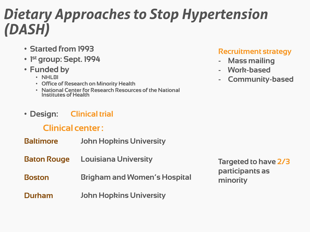 Dietary Approaches to Stop Hypertension (DASH) ...