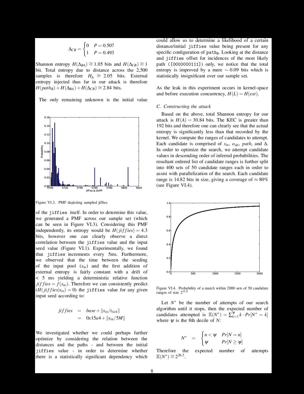 ∆CB = 0 P = 0.507 1 P = 0.493 Shannon entropy H...