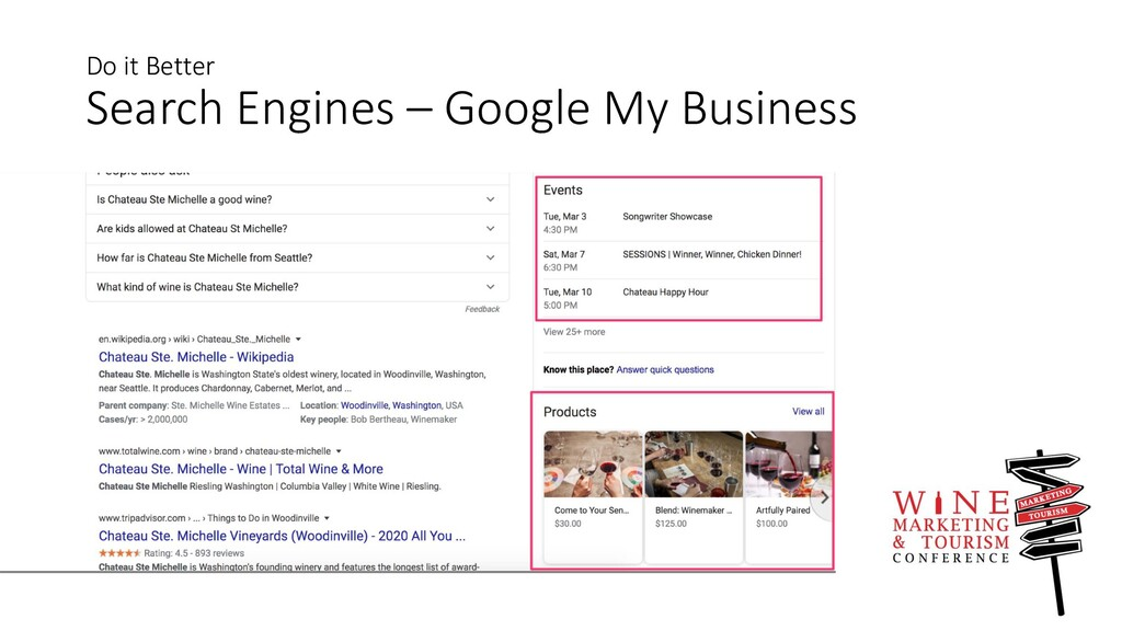 Do it Better Search Engines – Google My Business
