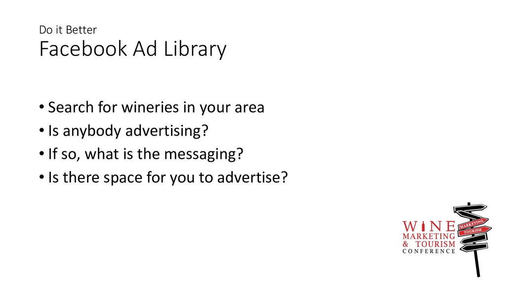 Do it Better Facebook Ad Library • Search for w...