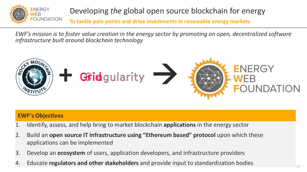 17 Developing the global open source blockchain...