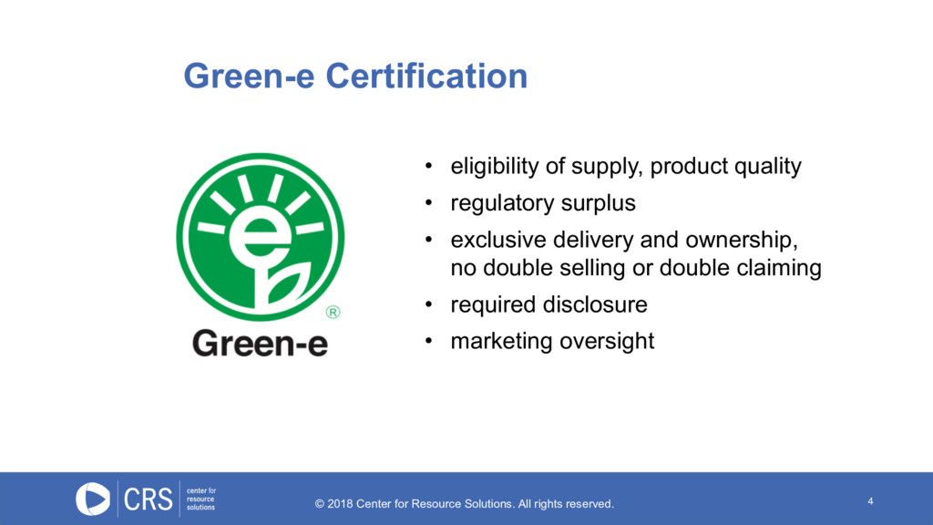 4 • eligibility of supply, product quality • re...