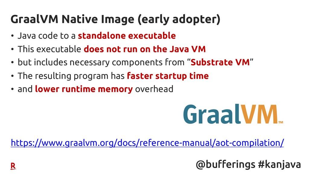 @bufferings #kanjava • Java code to a standalon...