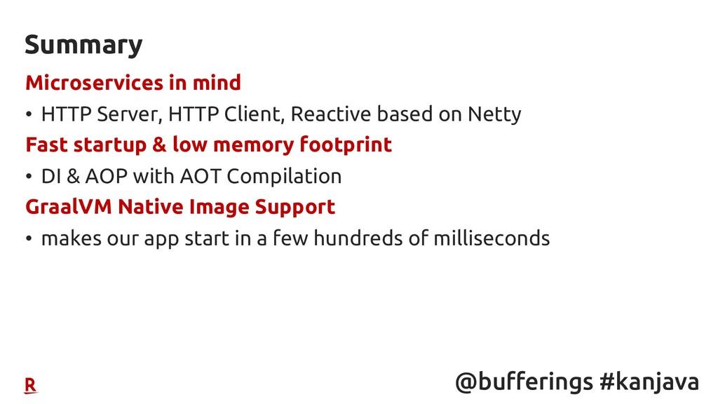 @bufferings #kanjava Microservices in mind • HT...