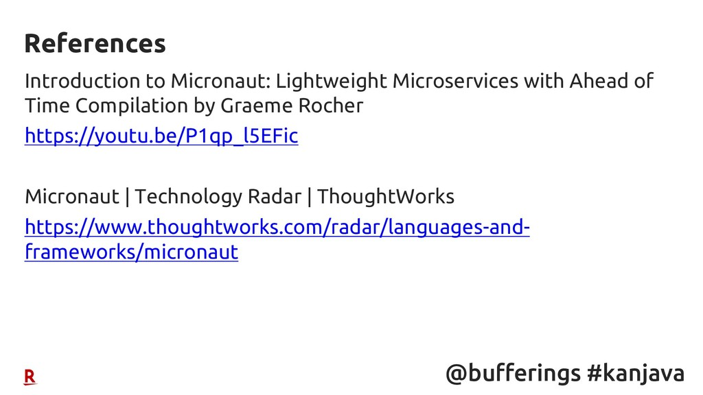 @bufferings #kanjava Introduction to Micronaut:...