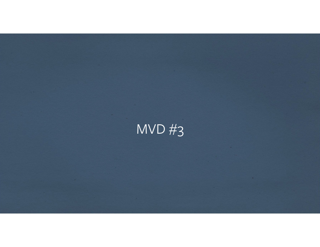 MVD #3