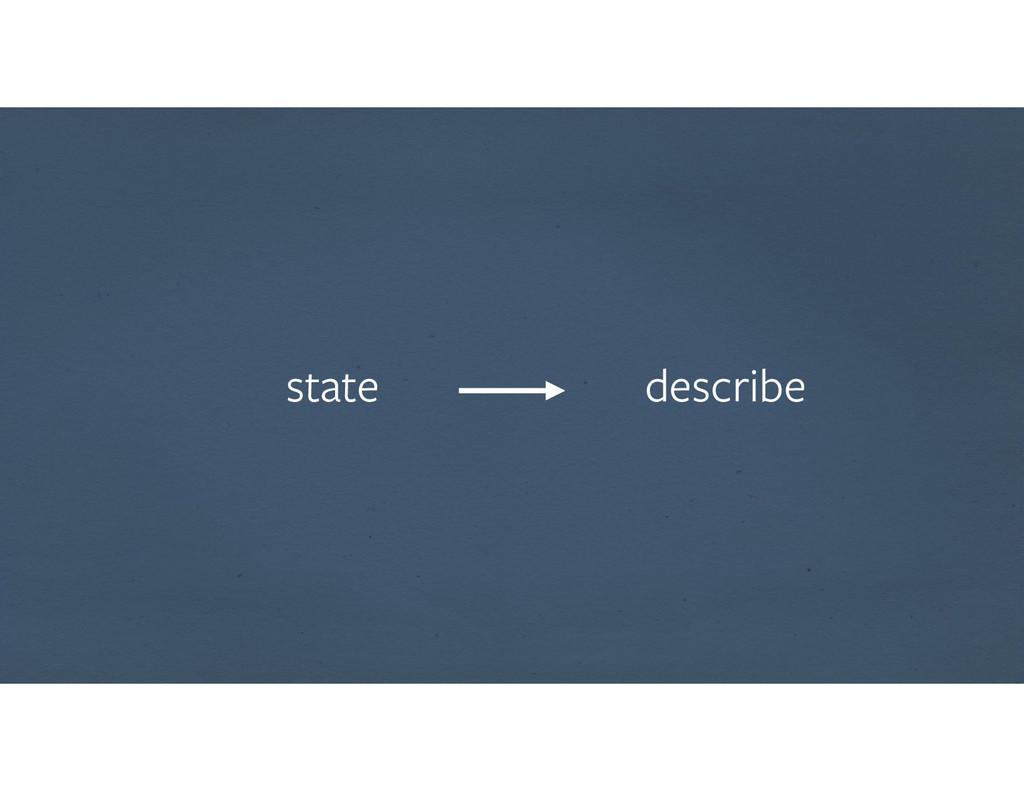 state describe