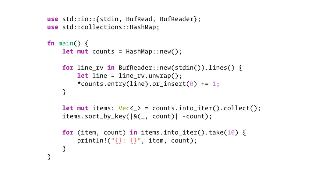 use std::io::{stdin, BufRead, BufReader}; use s...