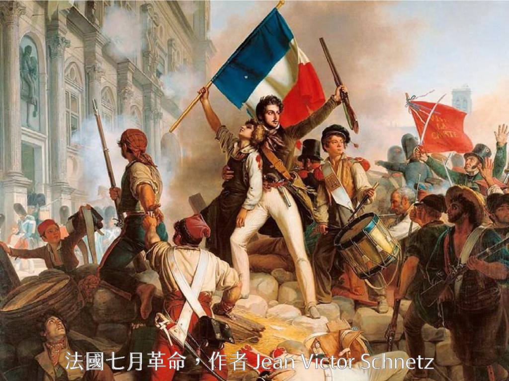 法國七月革命,作者 Jean Victor Schnetz