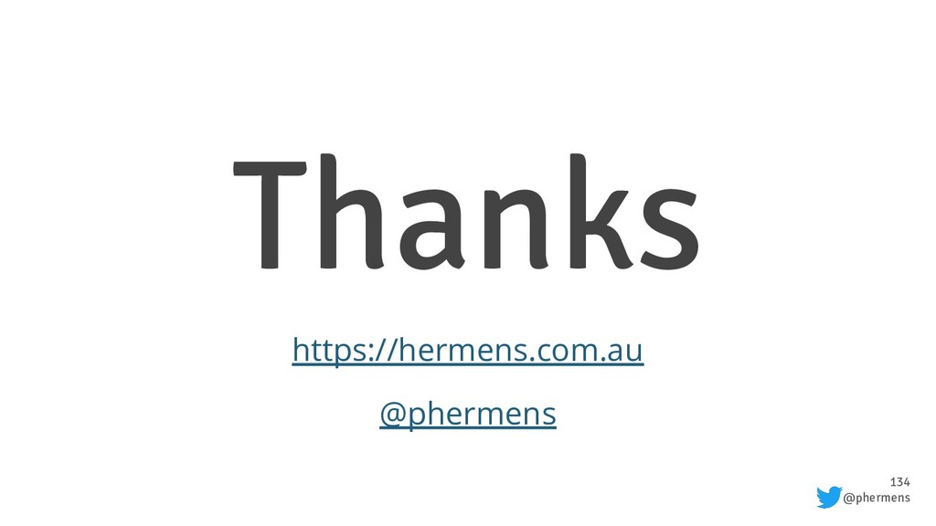 134 @phermens Thanks https://hermens.com.au @ph...