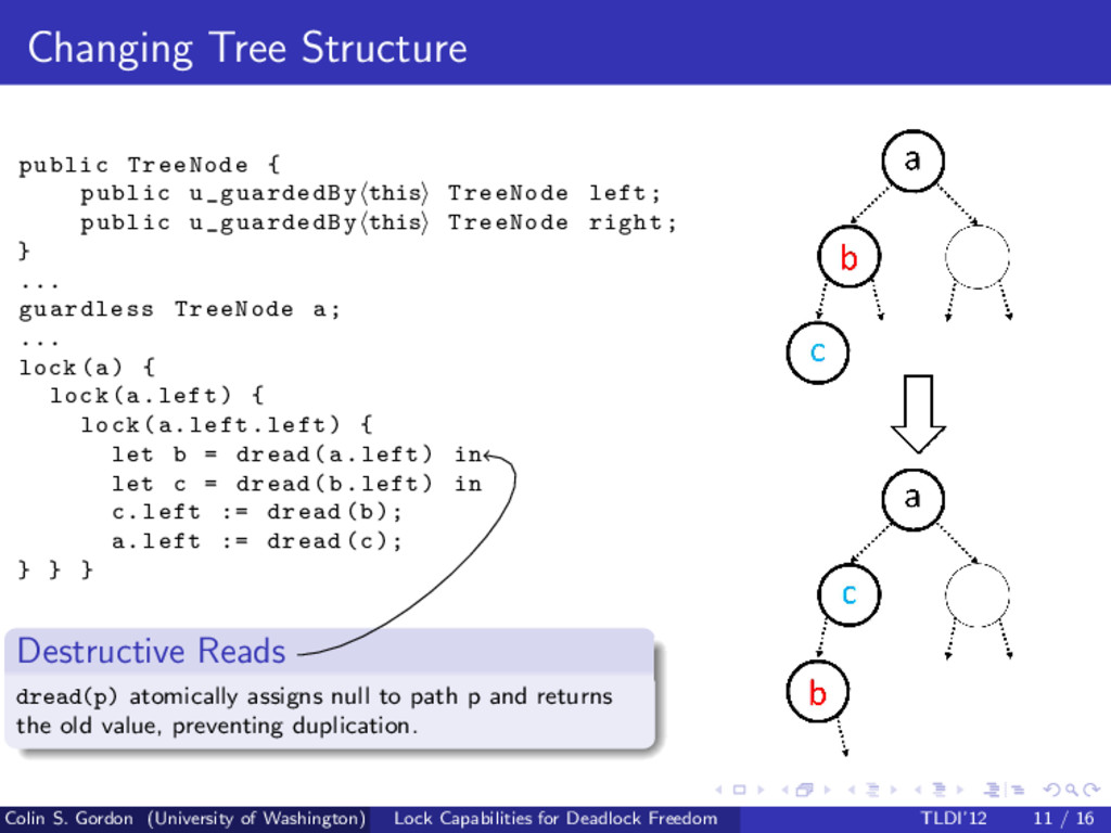 Changing Tree Structure public TreeNode { publi...