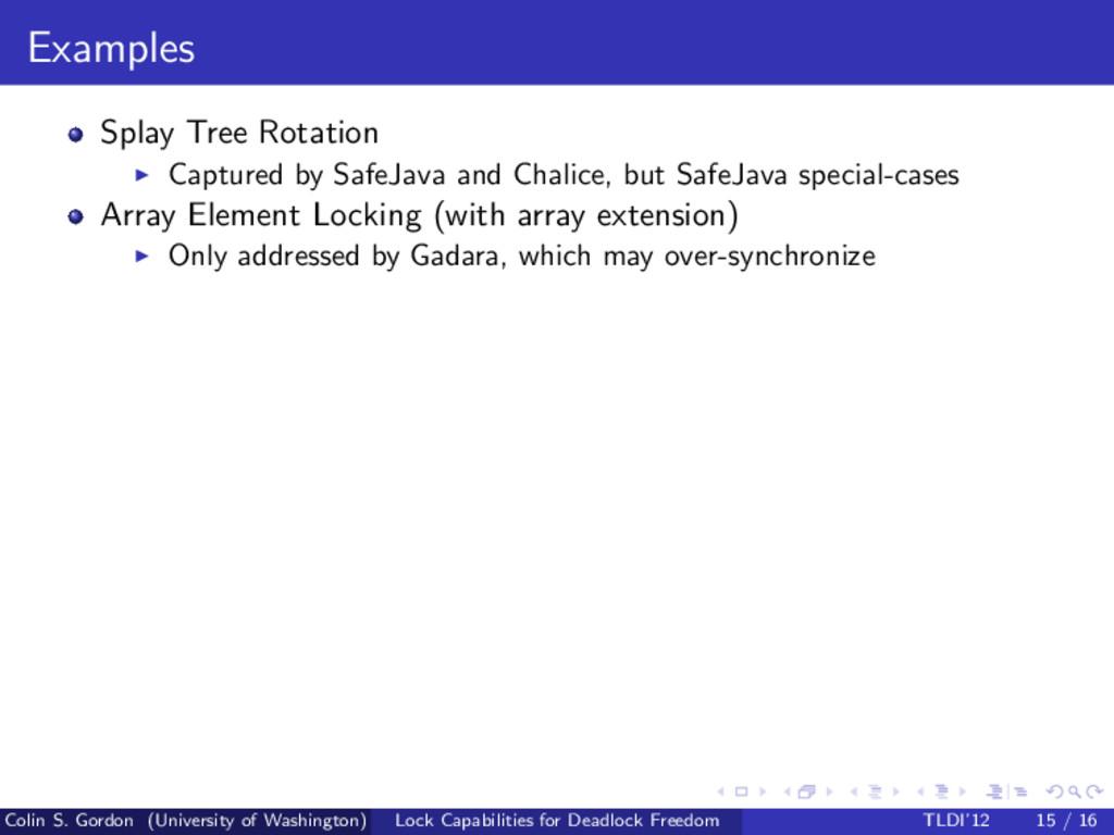 Examples Splay Tree Rotation Captured by SafeJa...