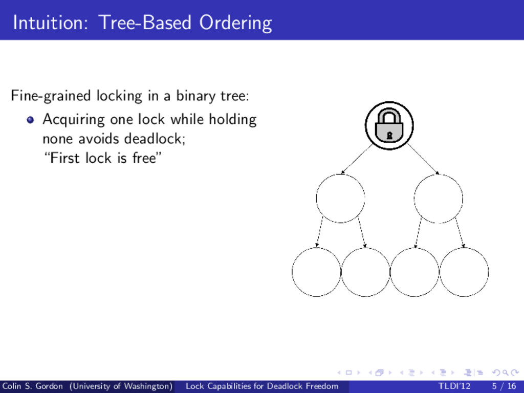 Intuition: Tree-Based Ordering Fine-grained loc...
