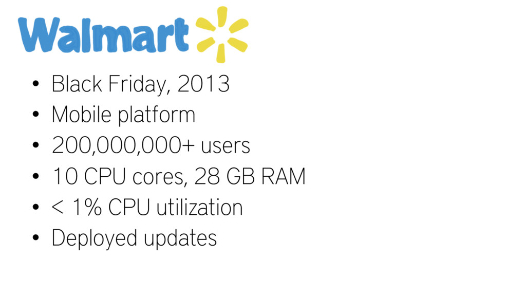 • Black Friday, 2013 • Mobile platform • 200,00...
