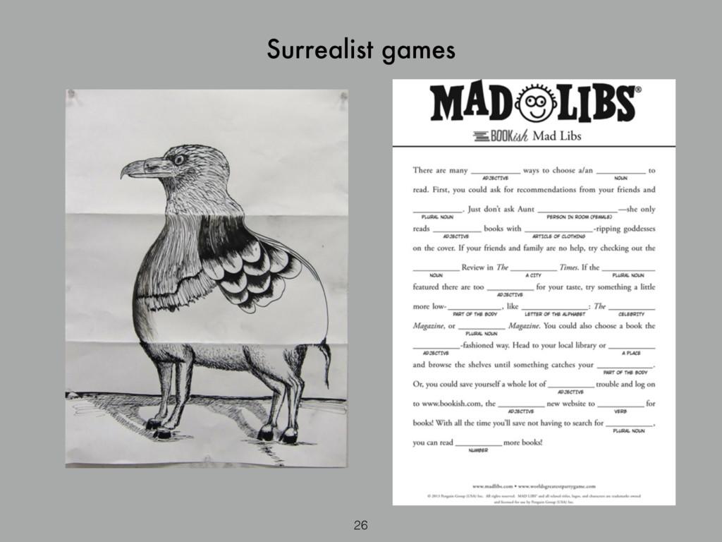 Surrealist games 26