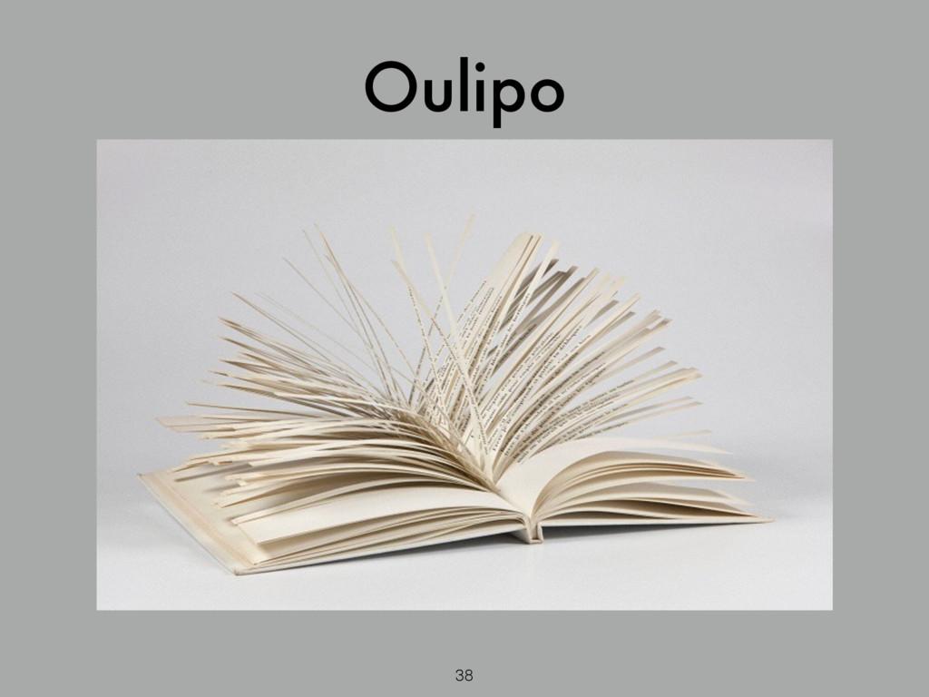 Oulipo 38