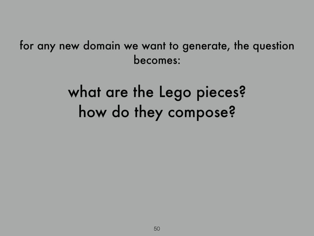 for any new domain we want to generate, the que...