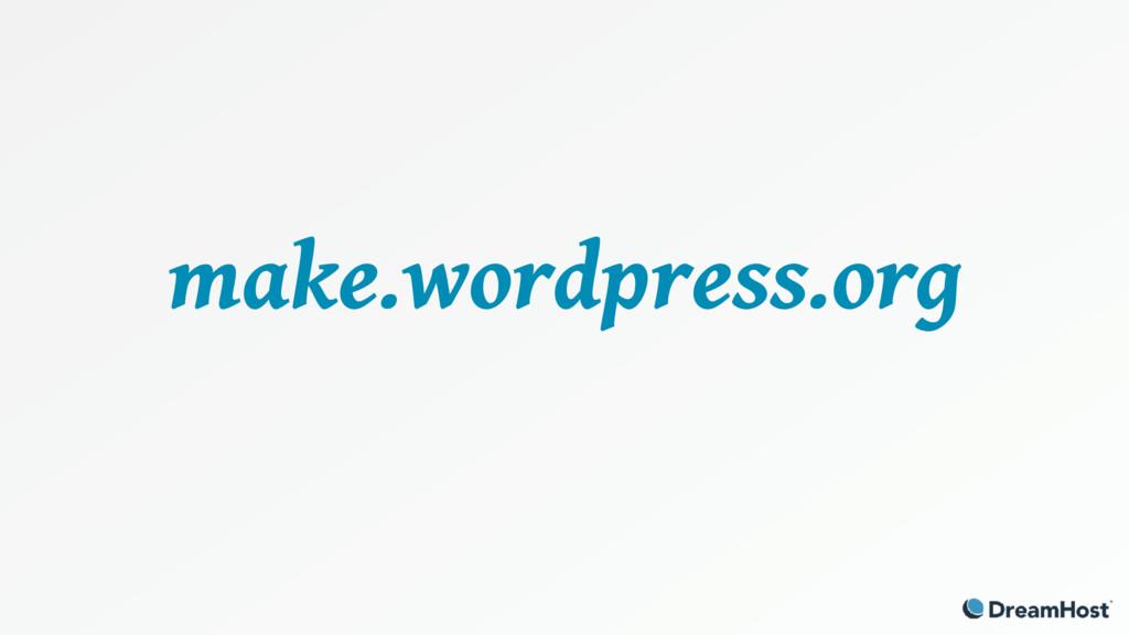 make.wordpress.org