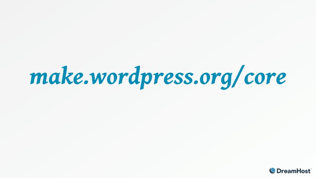 make.wordpress.org/core