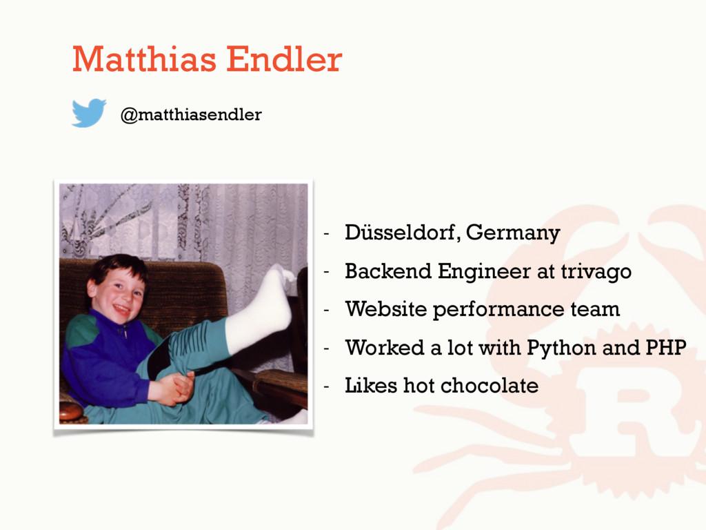 - Düsseldorf, Germany - Backend Engineer at tri...