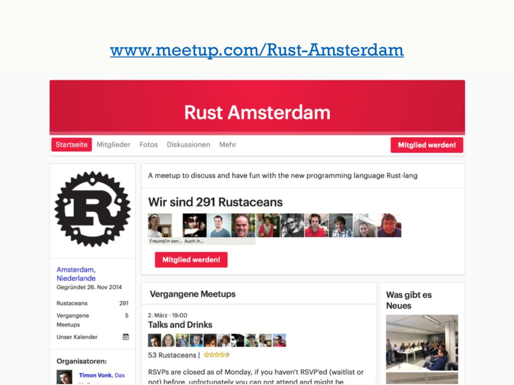www.meetup.com/Rust-Amsterdam