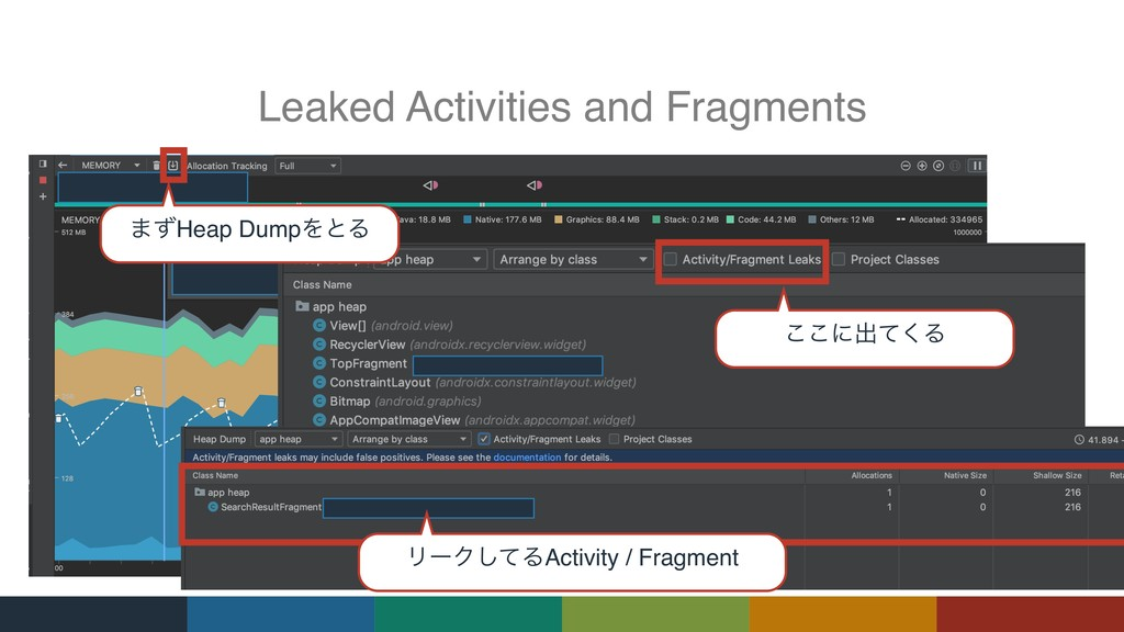 Leaked Activities and Fragments ·ͣHeap DumpΛͱΔ ...