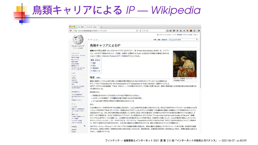 IP — Wikipedia — 2021 2-3 — 2021-06-07 – p.40/59