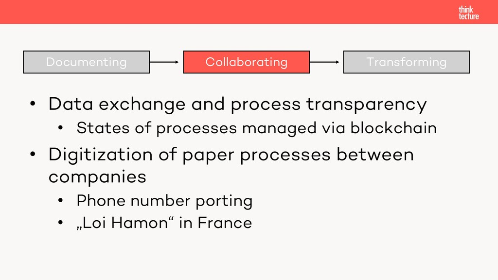Documenting Collaborating Transforming • Data e...