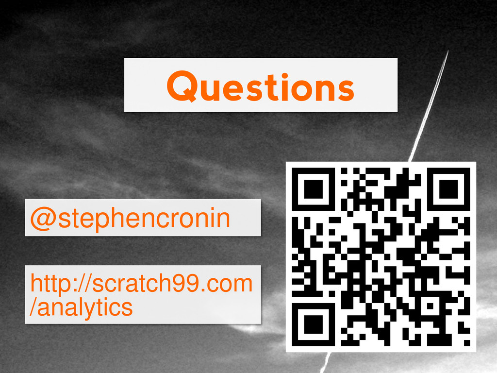 Questions @stephencronin http://scratch99.com /...