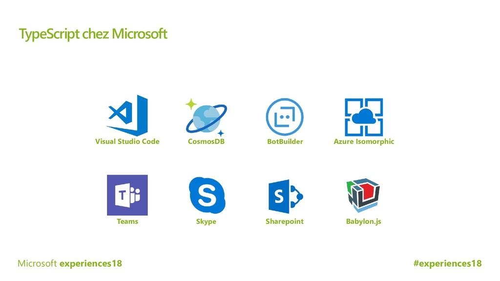 #experiences18 Microsoft experiences18 TypeScri...