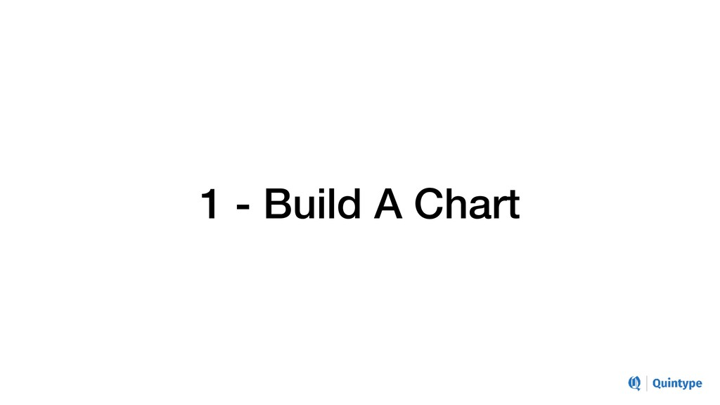 1 - Build A Chart