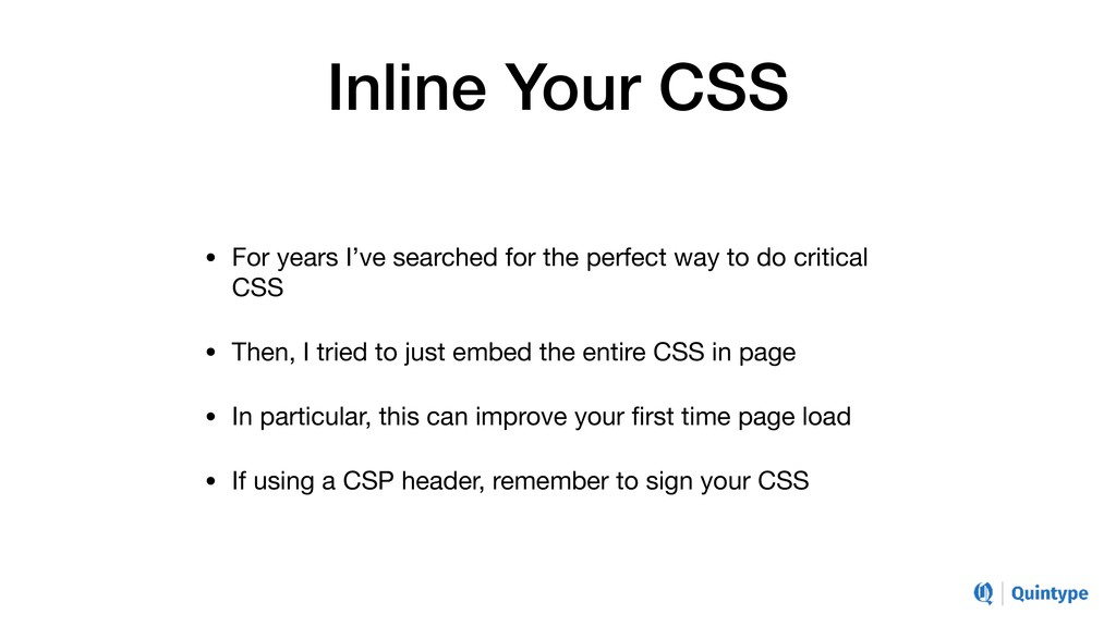 Inline Your CSS • For years I've searched for t...