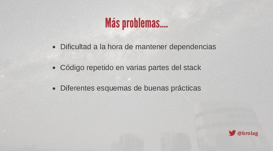 @brolag Más problemas.... Dificultad a la hora ...