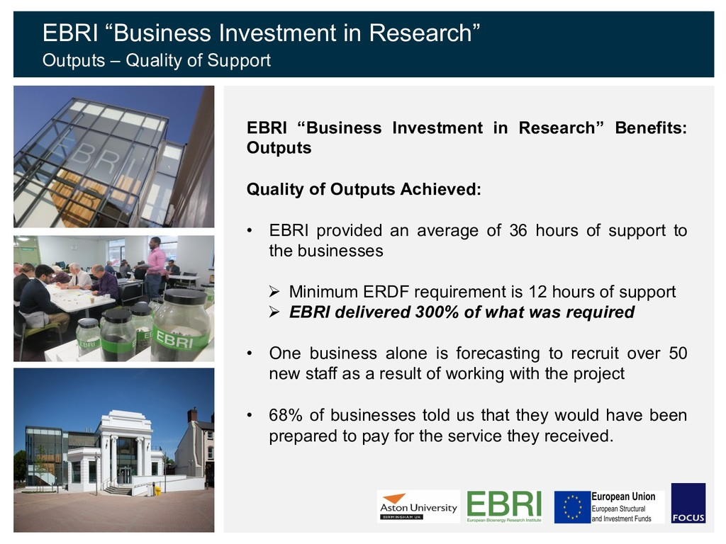"EBRI ""Business Investment in Research"" Benefits..."