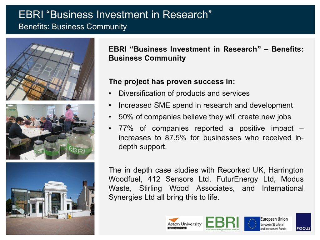 "EBRI ""Business Investment in Research"" – Benefi..."